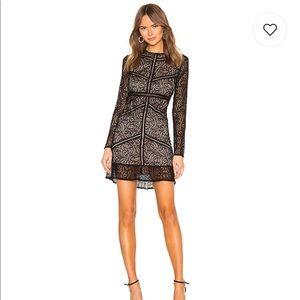 Lace black dress WORN ONCE!